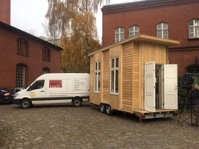 neues tiny house f r berliner bauhauscampus tiny house. Black Bedroom Furniture Sets. Home Design Ideas